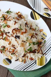 घी चावल पहले ट्राइमेस्टर के लिए
